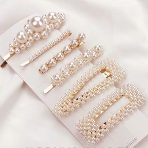 Gorgeous 6 pearl hair styling clips 😍fashion